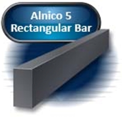 "Alnico 5 - Rectangular Bar, Cast, 0.250"" X 0.500"" X 6.00""(S)"