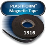 "PLASTIFORM® 1316 Magnet Tape, 0.035""x0.5""x100' with Adhesive (2 rolls/pkg)"